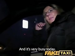 FakeTaxi Blonde gets her kit off...
