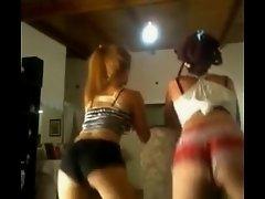 Booty shake dance